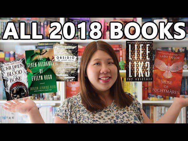 All the Books I Read in 2018 | 122 BOOKS