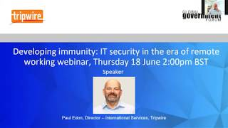 Developing Immunity: IT Security in the Era of Remote Working