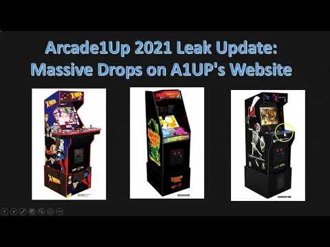 Massive Arcade1up CES Leaks (X-Men, Dragons Lair, Killer Ins from ConStorm Entertainment