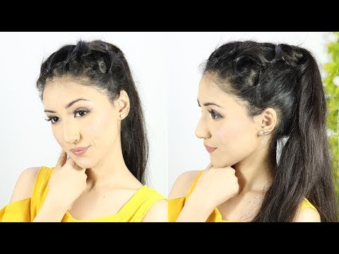 Ponytail Hairstyle New Latest Hairstyle Using Trick | Everyday Hairstyles | Prom Hairstyles thumbnail