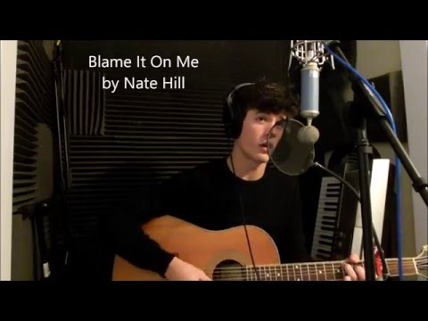 Blame It On Me Acoustic George Ezra ( by Nate Hill )