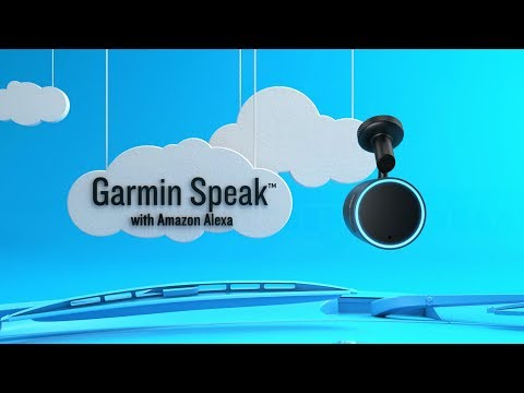 Introducing Garmin Speak™ with Amazon Alexa
