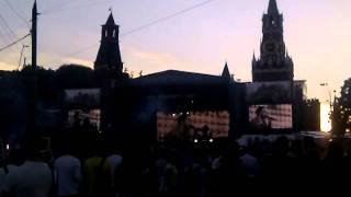 Linkin Park в Москве на презентации фильма Трансформеры