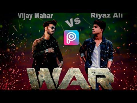 PicsArt WAR Movie Poster Editing Tutorial Step By Step In Hindi || Instagram Viral Photo ||