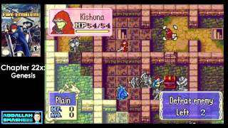 "Let's Play GBA Fire Emblem: Chapter 22x - ""Genesis"" Walkthrough with Abdallah"