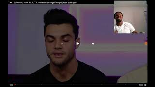 LEARNING HOW TO ACT FT WILL FROM STRANGER THINGS (NOAH SCHNAPP) BY DOLAN TWINS REACTION