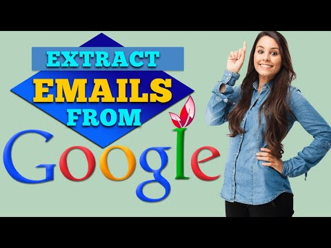 Find And Extract Emails/targeted Emails From Google/Emails For 2020 Email Marketing