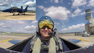 My Blue Angels Ride Along Flight