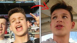 So i got kicked out...   England vs Bulgaria Vlog