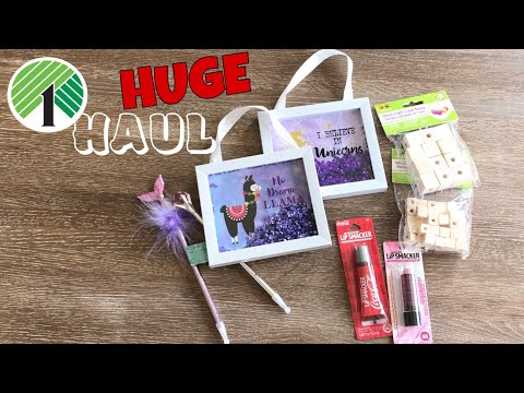 HUGE DOLLAR TREE HAUL APRIL 2019