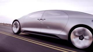 Mercedes: World premiere of the Mercedes-Benz F 015 Luxury in Motion research vehicle.