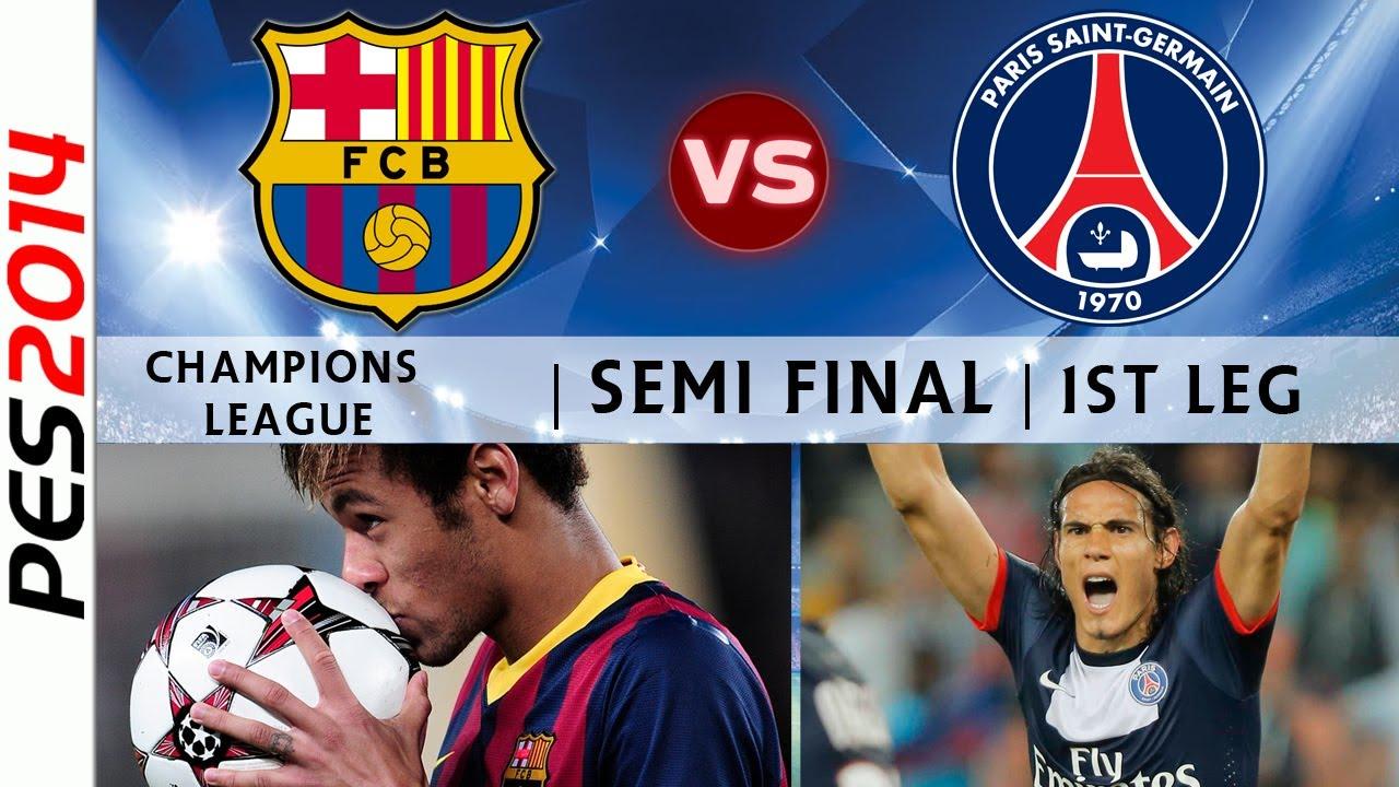 Ttb pes 2014 champions league barcelona barcelona vs for Tour de barcelona a paris