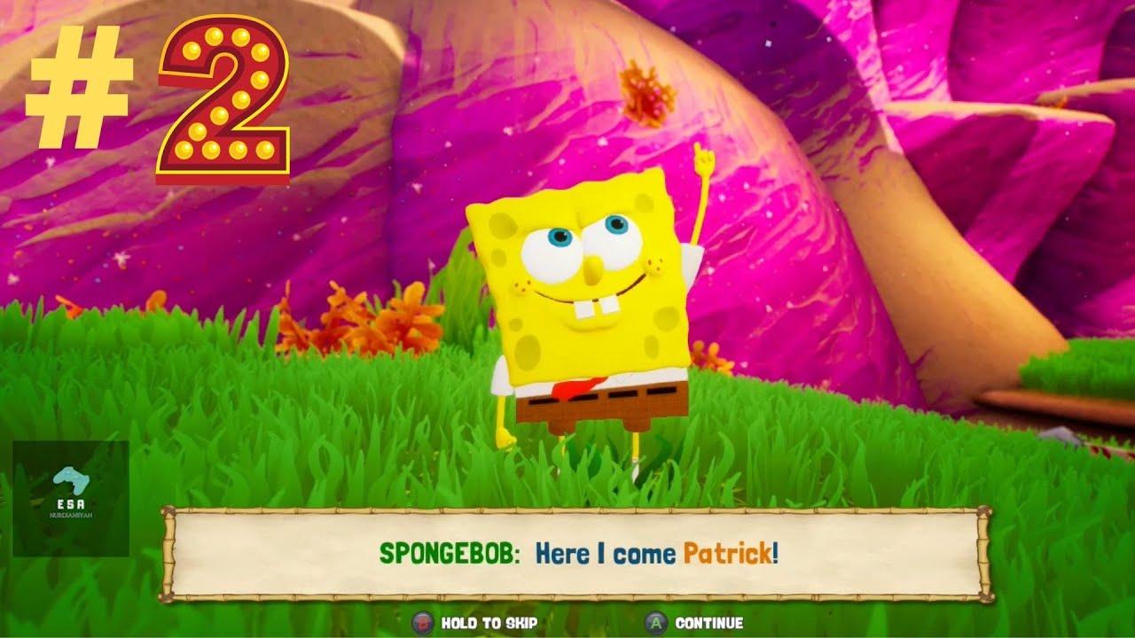 Spongebob save the bikini bottom