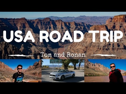 ROAD TRIP USA | Los Angeles to Las Vegas & The Grand Canyon | GoPro Hero 5