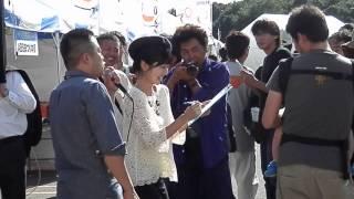 2013年9月22日 イオンモール秋田でのABSまつり。 『八重樫画...