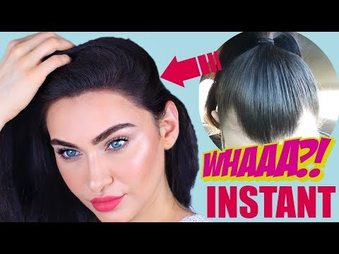 HOW TO INSTANTLY GET THICKER HAIR   FOR BALD, THINNING, RECEDING HAIR   Ruby Golani