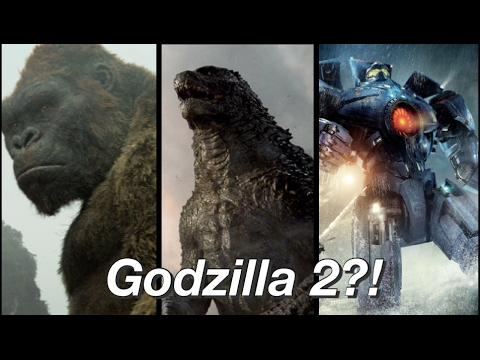 Godzilla 2?! Pacific Rim 2?! Trailers?! Coming soon! Kong Skull Island After Credits Teaser?!
