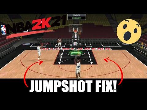 NBA 2K21 Jumpshot Fix!