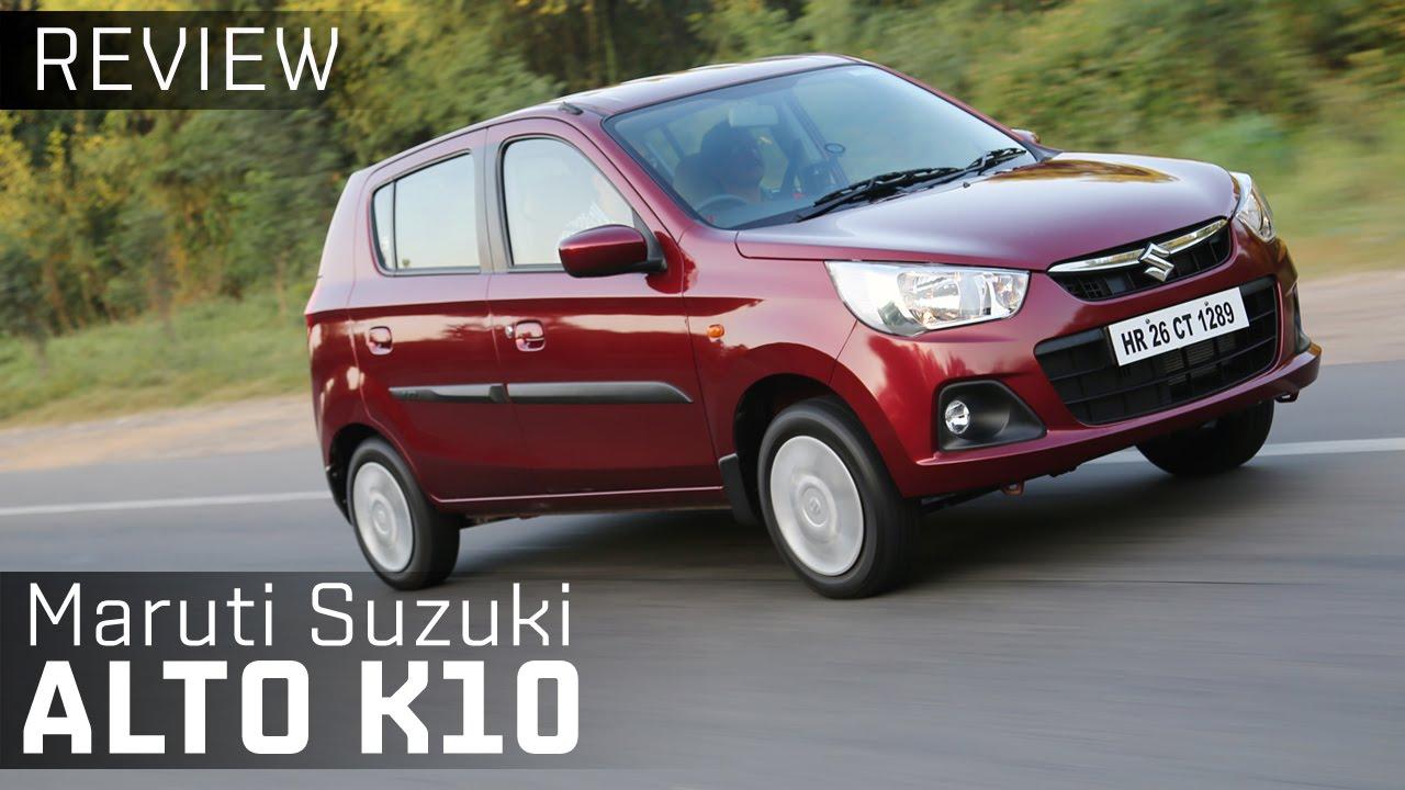 2015 Maruti Suzuki Alto K10 :: Review :: ZigWheels - YouTube