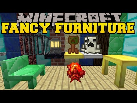 Minecraft Furniture Mod Computer Tv Fridge Oven C