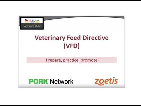 Veterinary Feed Directive: Prepare, practice, promote