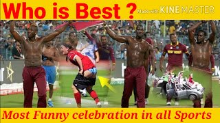 Funny celebration and moments in all sports