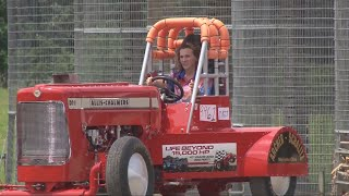 Ohio father, daughter duo sets land speed world record on farm tractor