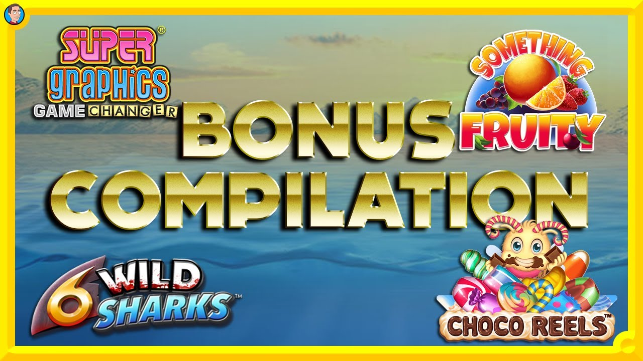 NEW Slots BONUS Compilation: Choco Reels, Game Changer, 6 Wild Sharks