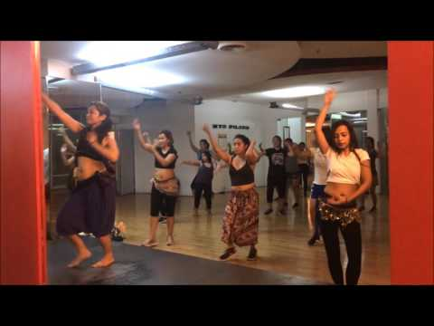 Bellydance Pop Choregoraphy: Cheerleader