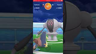 Pokémon Go - Level 5 Raid - Registeel