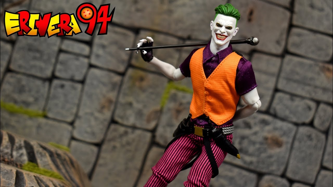 "NEW MEZCO DC COMICS JOKER THE CLOWN PRINCE ONE:12 COLLECTIVE 6/"" ACTION FIGURE"