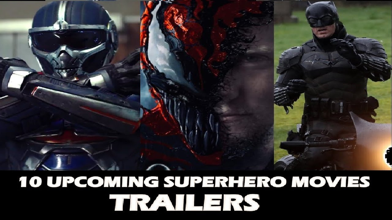 10 Best SUPERHERO movies trailer of 2020-2021    DC ...