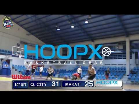 HXBL: Makati Red Dragons VS Quezon City Raging Bulls 1st Half