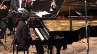 Brahms's First Piano Concerto in D minor  clip 7 Poom Prommachart