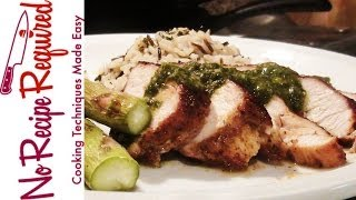 Chicken Breast With Chimichurri Sauce - Noreciperequired.com