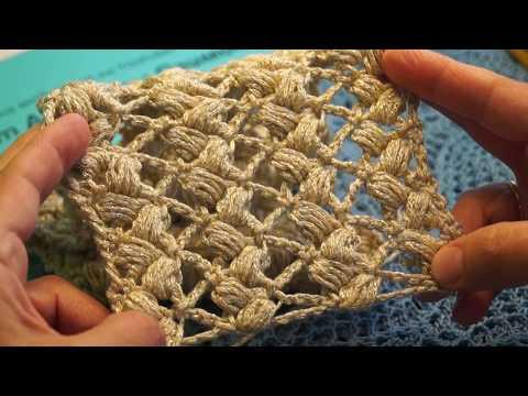 Видео вязание пышного столбика крючком