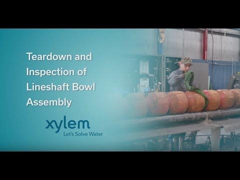 Teardown & Inspection of Lineshaft Bowl Assembly