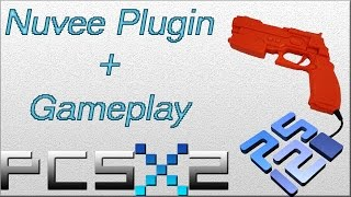 Pcsx2 How to use Nuvee plugin + Gameplay (Mouse as Guncon2)