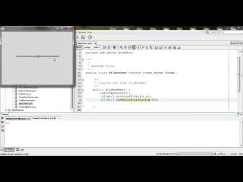 Java Swing 37: Slider