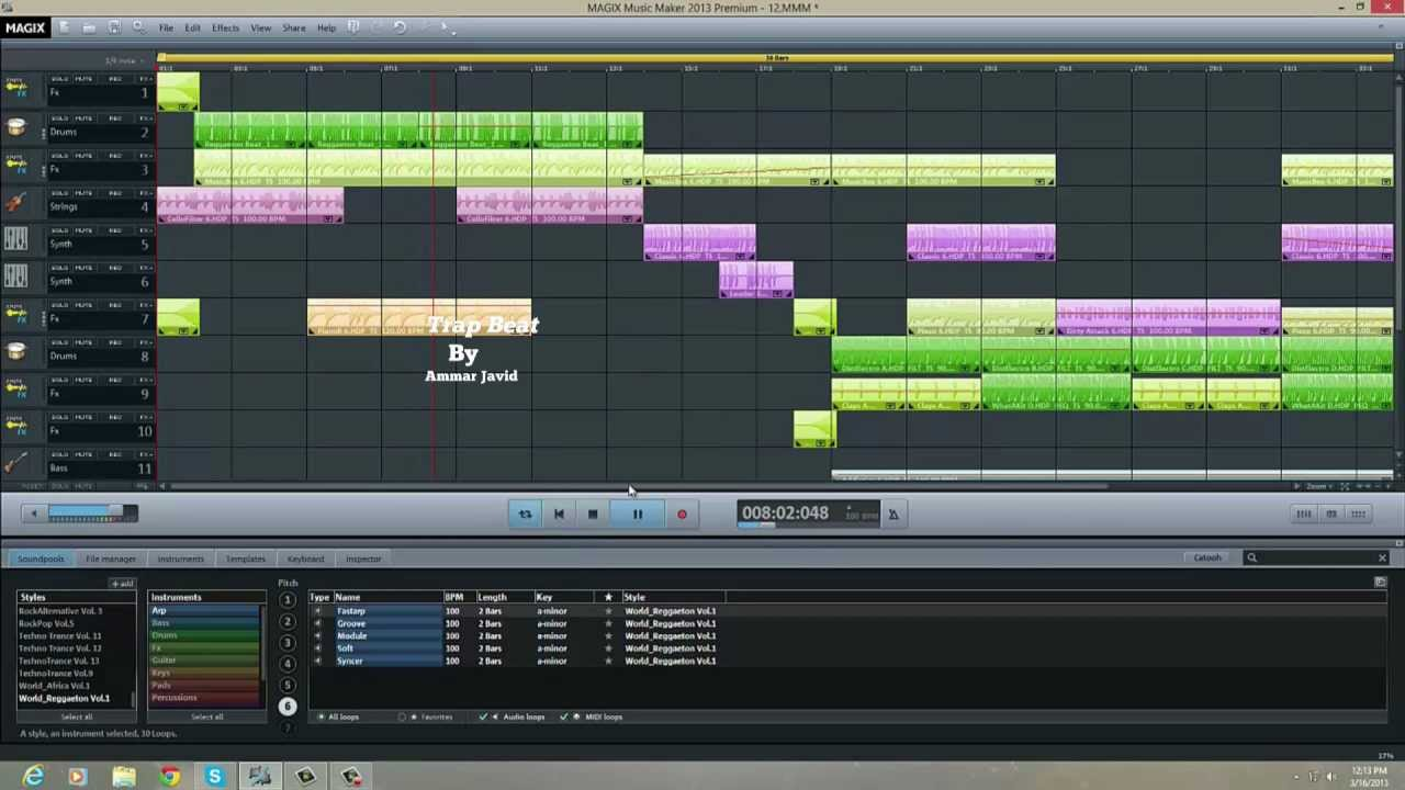 Reggaeton Beat Magix Music Maker Youtube