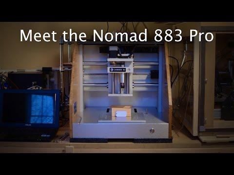 Meet the Nomad 883 Pro Desktop CNC