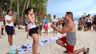 How He Proposed in the New Boracay (feat. Coast Boracay)