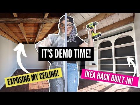 DIY Modern Farmhouse Office Transformation! Pt. 1   HOME MADE HOME   DIY Danie