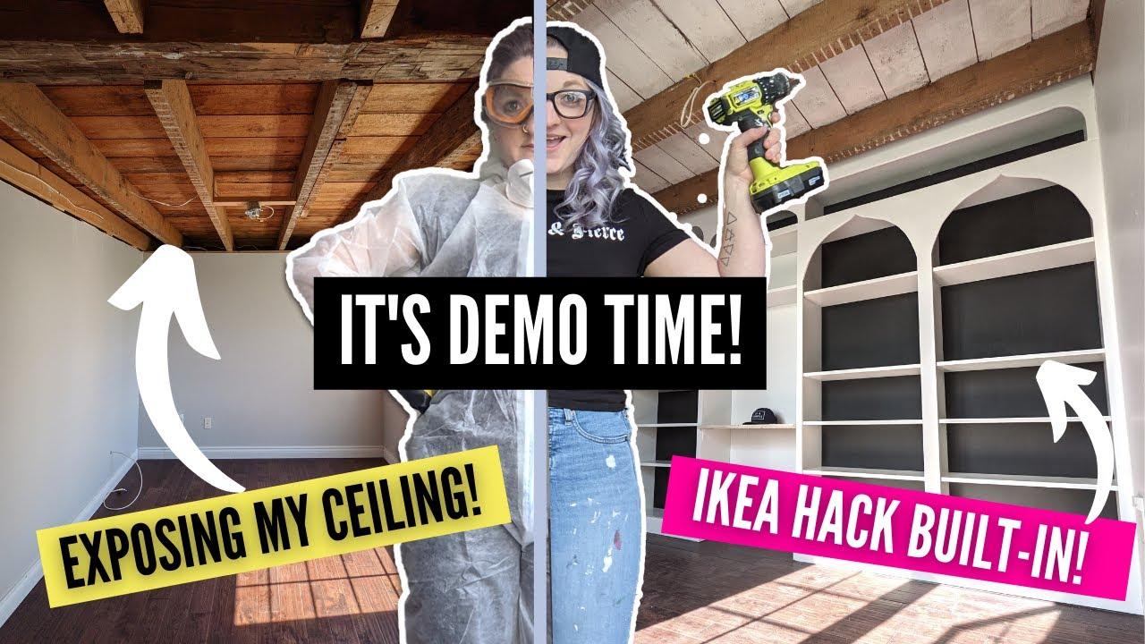 DIY Modern Farmhouse Office Transformation! Pt. 1 | HOME MADE HOME | DIY Danie