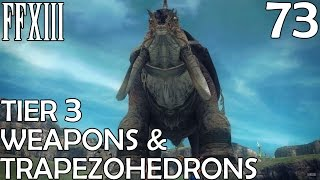 Final Fantasy XIII PC Walkthrough Part 73 - Adamantoise, Trapezohedrons & Ultimate Weapons