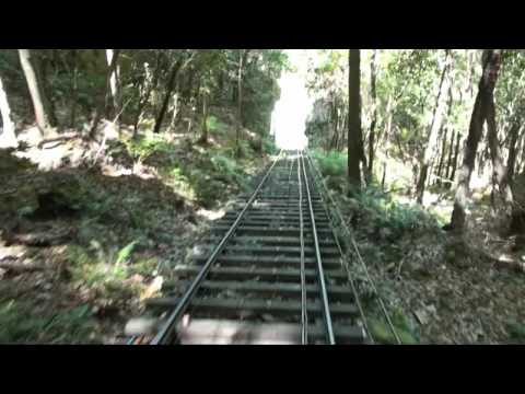 Katoomba NSW Scenic Railway - Skyway The steepest railway line in the world