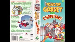 Inspector Gadget Saves Christmas (1997 UK VHS)