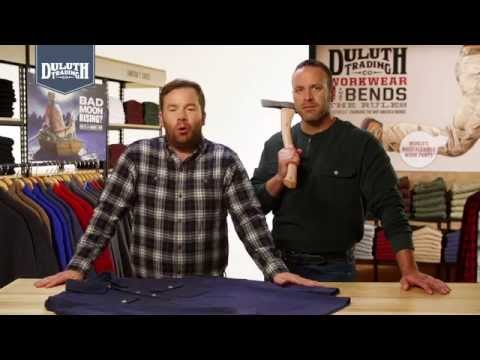 Duluth Trading Rib Mountain Henley & Polo