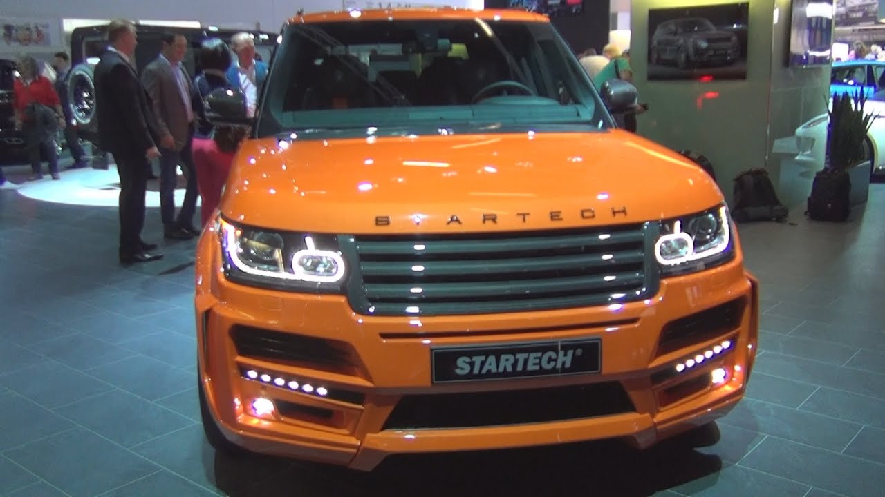 Range Rover Pickup >> Land Rover Range Rover Pick Up 3.0 V6 SC Startech (2016) Exterior and Interior in 3D - YouTube