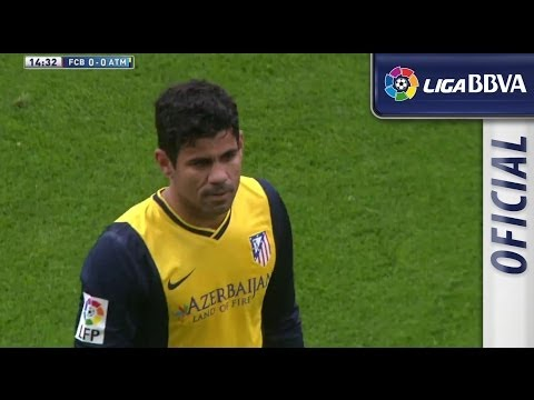 Diego Costa's injury. Costa crying in the bench